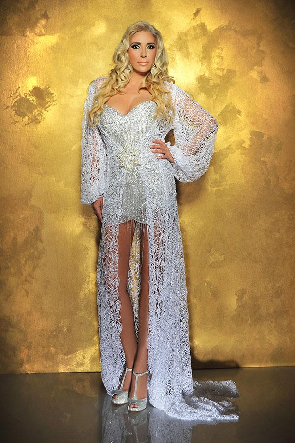 אדיר שמלות ערב לחתונה   אילנית מזרחי - שמלות כלה וערב מעוצבות להשכרה CQ-47
