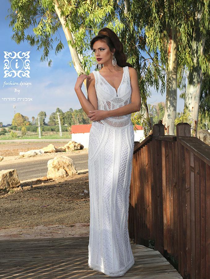טוב מאוד שמלות כלה 2015   אילנית מזרחי - שמלות כלה וערב מעוצבות להשכרה בתל אביב OI-56