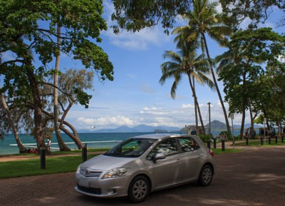 car image for travel itineraries