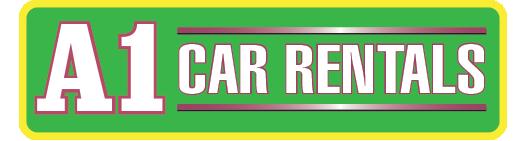 A1 Car Rentals logo
