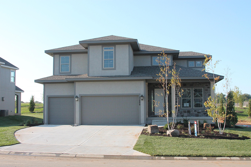 A Roeser Homes model home example