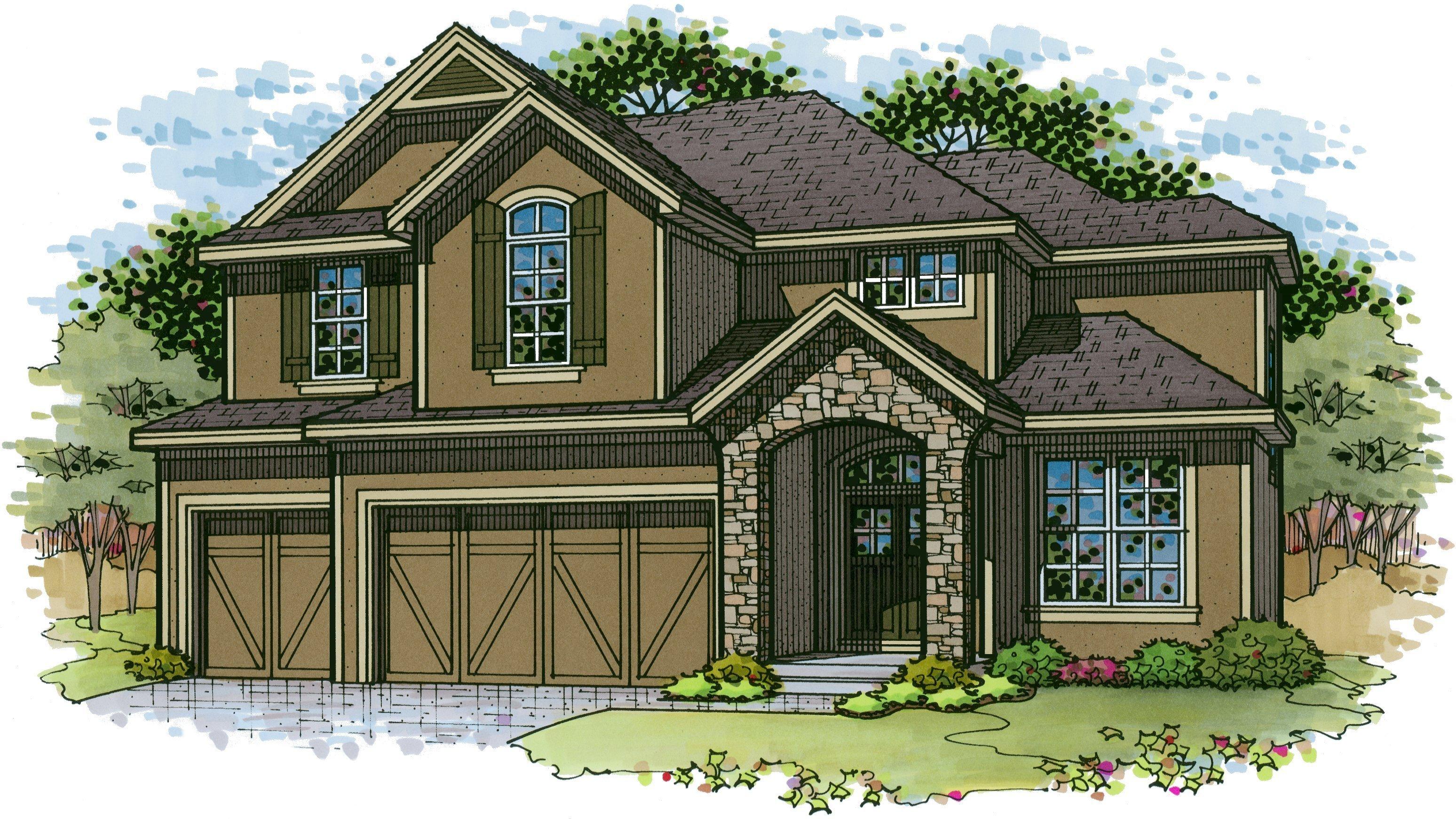 Newmark Homes Avalon Floor Plan
