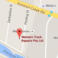 Western Truck Repairs Google Maps
