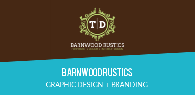 BARNWOODRUSTICS | GRAPHIC DESIGN