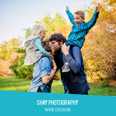 SHAY PHOTOGRAPHY | WEB DESIGN
