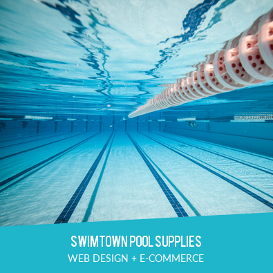 SWIMTOWN POOL SUPPLIES | WEB DESIGN + E-COMMERCE