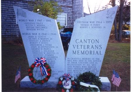 This is the Canton Veterans Memorial