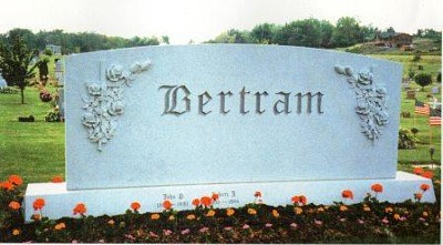 Classy fonts are available for engraving on your headstone