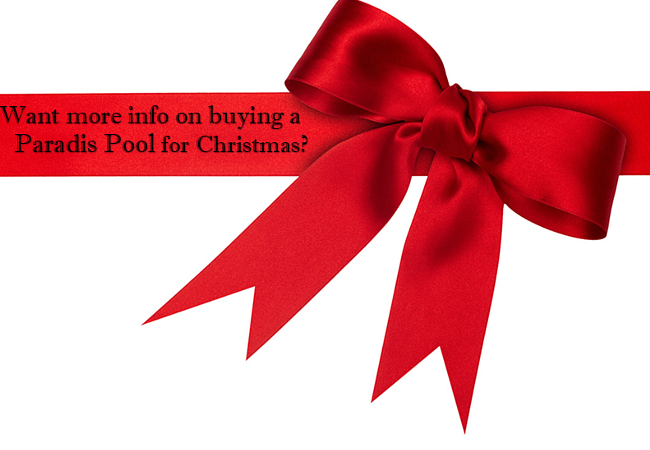 Why not get a pool for the holiday