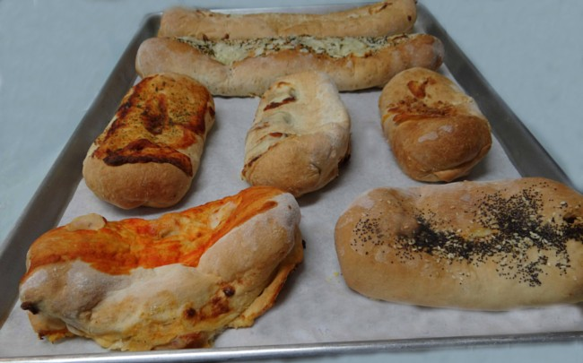 Lewis Farms in Southington CT has fresh baked savorys