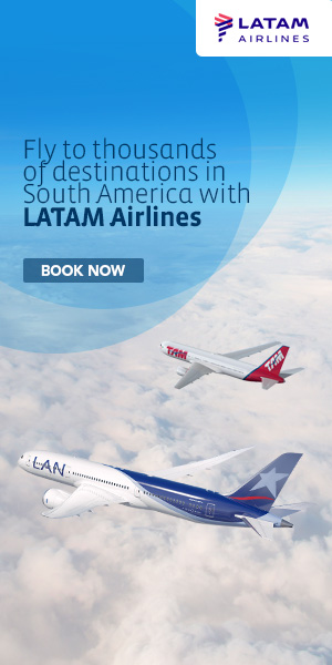 Fly to thousands of destinations in South America