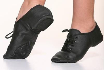 נעל סופט ג'אז סוליה מפוצלת מעור