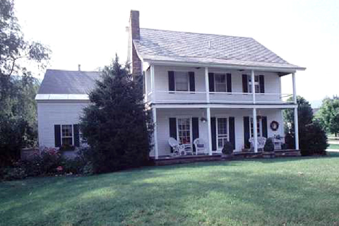 A Southington single family home protected by our gutter cleaning and maintenance services.