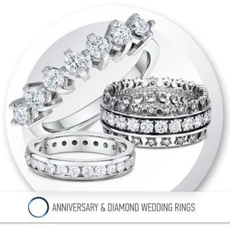 DORA anniversary & diamond wedding rings Plainville CT