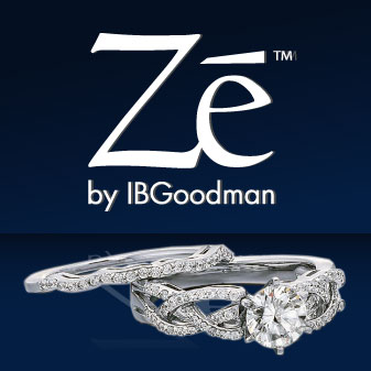Get Ze women's bridal jewelry by IBGoodman at DBK Family Jewelers in Plainville, CT