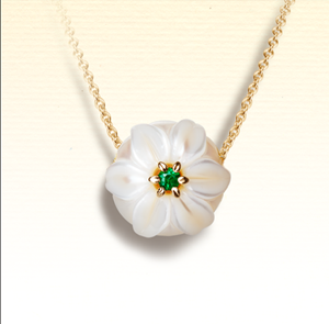 Pearl Flower Necklace by GALATEA