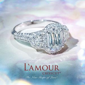 DBK Family Jewelers carries the beautiful diamonds of Lamour Crisscut