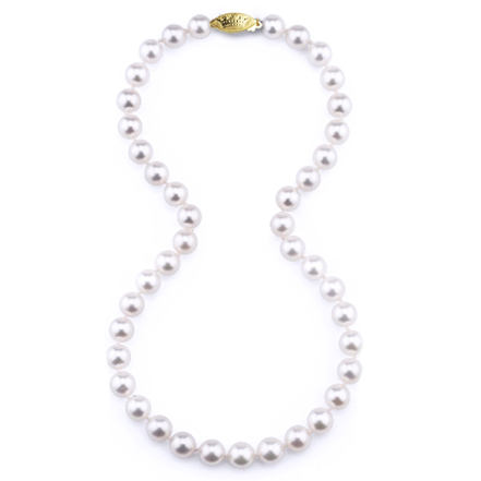 Imperial pearl strand necklace