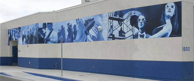 Chula Vista High School Mural