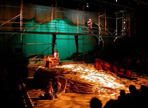 Charge Scenic Artist Flesh in the Desert Designer