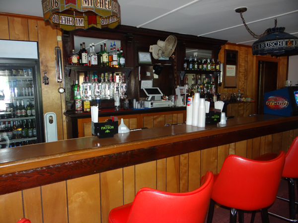 Sit-down bar at the Bristol Swedish Social Club in Bristol, CT
