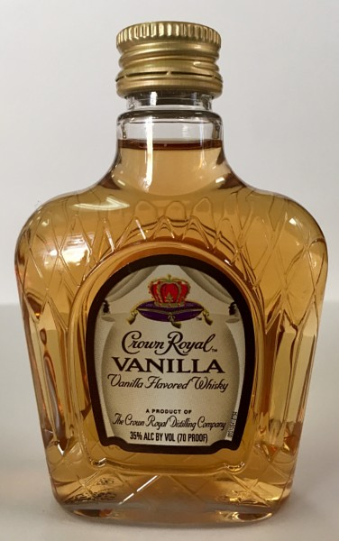 Mini bottle Crown Royal Canadian Whisky