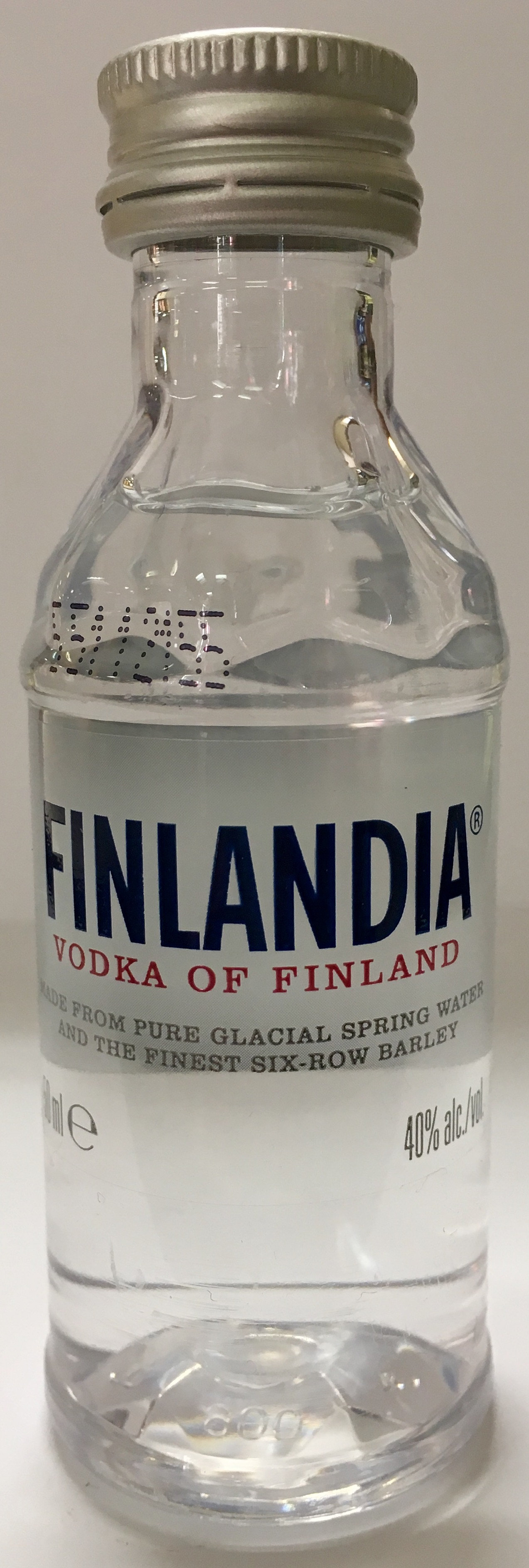 Mini bottle Stolichnaya Vodka