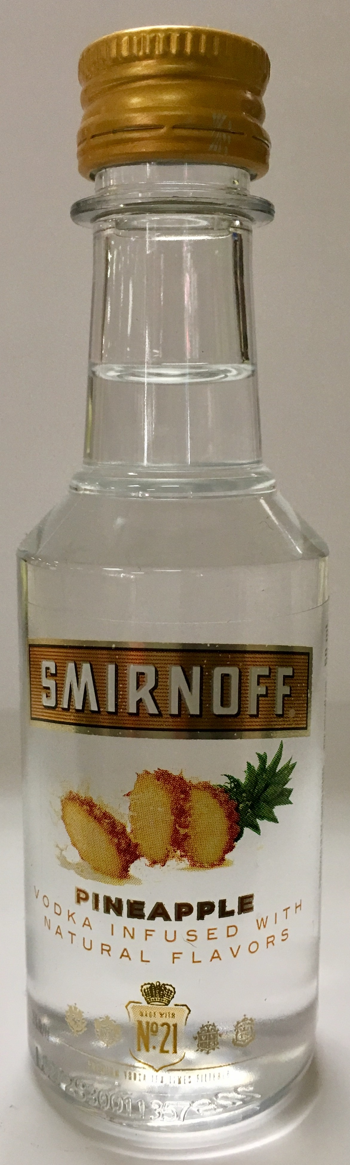 Mini bottle Smirnoff Vodka