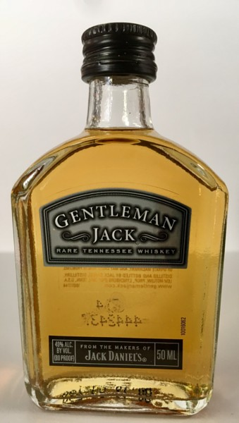 Mini bottle Gentleman Jack Tennessee Whiskey