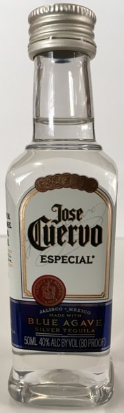 Mini bottle Jose Cuervo Tequila