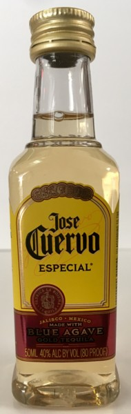 Mini bottle Jose Cuervo Silver Tequila