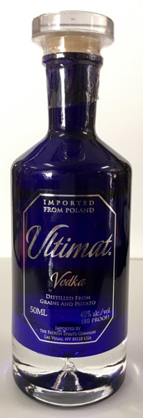 Mini bottle Ultimat Vodka