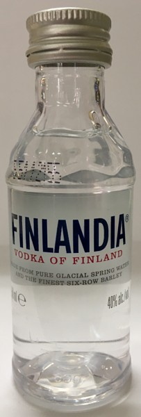 Mini bottle Finlandia Vodka