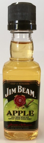 Mini bottle Jim Beam Bourbon