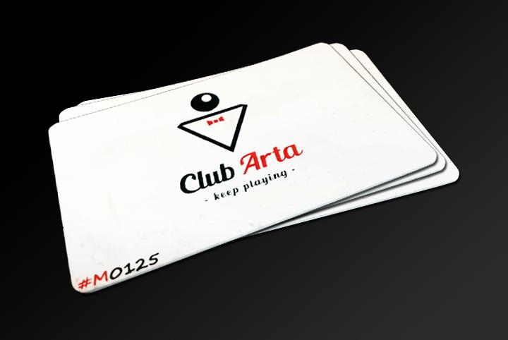 Cardul de membru Club Arta