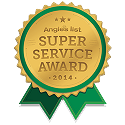 2X winner of the Angie's List Super Service Award