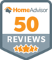 Home Advisor Appliance repair 50 reviews graphic