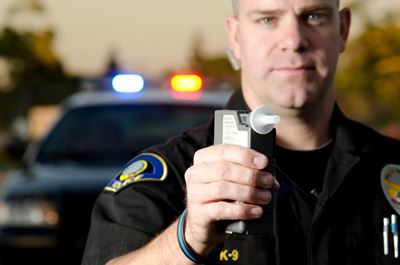 It is legal for an officer to want a breathalyzer test