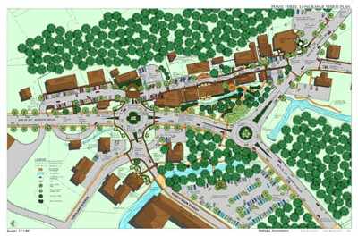 Plan for Village of Georgetown designed by Didona Associates