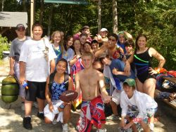 A group photo at Camp Wightman | Second Baptist Church, Suffield, CT