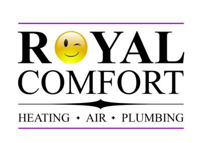 Royal Comfort Heating Air & Plumbing Logo