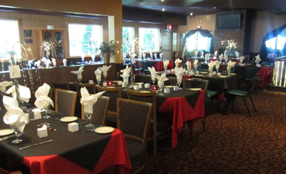 Photo of a banquet room at Bella Fiore in Norwich, CT