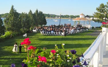 Amarante's Sea Cliff in New Haven is a waterfront location for your wedding reception