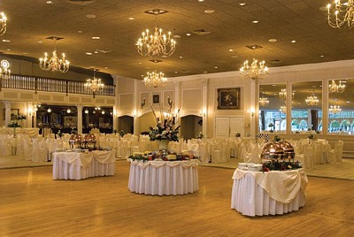 Photo of one of the banquet rooms at Aqua Turf in Southington
