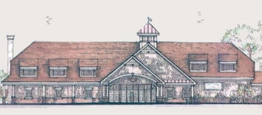 Illustration of The Lakehouse in Wolcott, CT