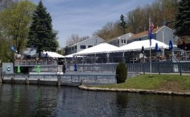 The Down the Hatch Restaurant on Candlewood Lake in Brookfield