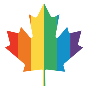 maple, leaf, canada, lgbt, pride, rainbow, red, orange, yellow, green, blue, purple, flag, toronto