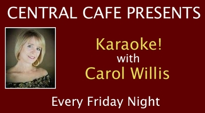 We have karaoke on Friday nights