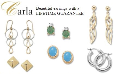 We carrt beautiful Carla earrings at Dunbar Jewelers