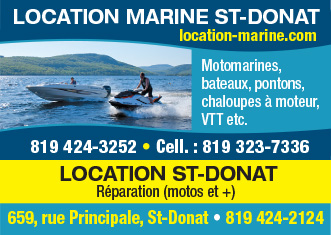 Location Marine St-Donat